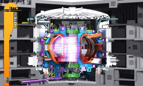 tokamak illustratie